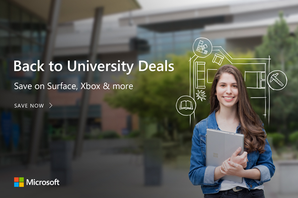 Back to University Deals