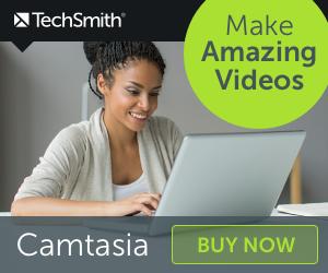 Academic, Student and Teacher Discount, Camtasia 2020 Education