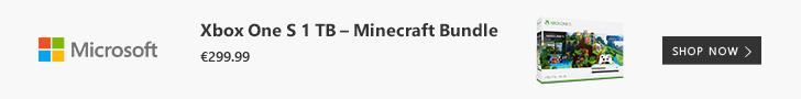 XBox One S 1 TB Minecraft Bundle