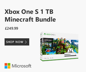 XBox One S 1 TB Minecraft Bundle