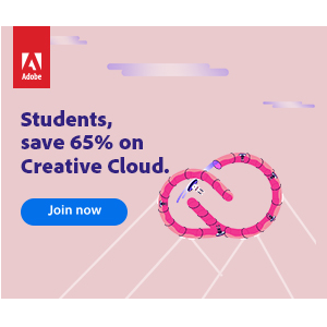 Adobe Creative Cloud Students and Teachers