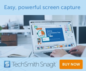 Academic, Student and Teacher Discount SnagIT 2020 Education