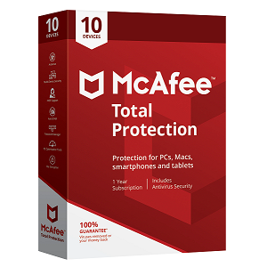 McAfee Total Protection 10 Devices