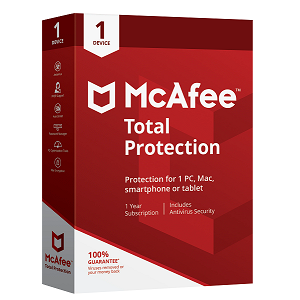 McAfee Total Protection 1 Device