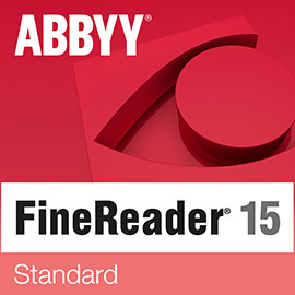 ABBYY FineReader Standard for Windows