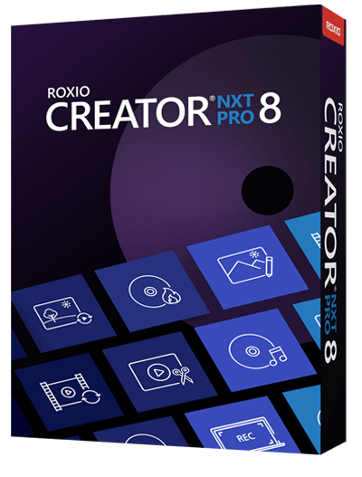 Roxio Creator NXT 8 Pro