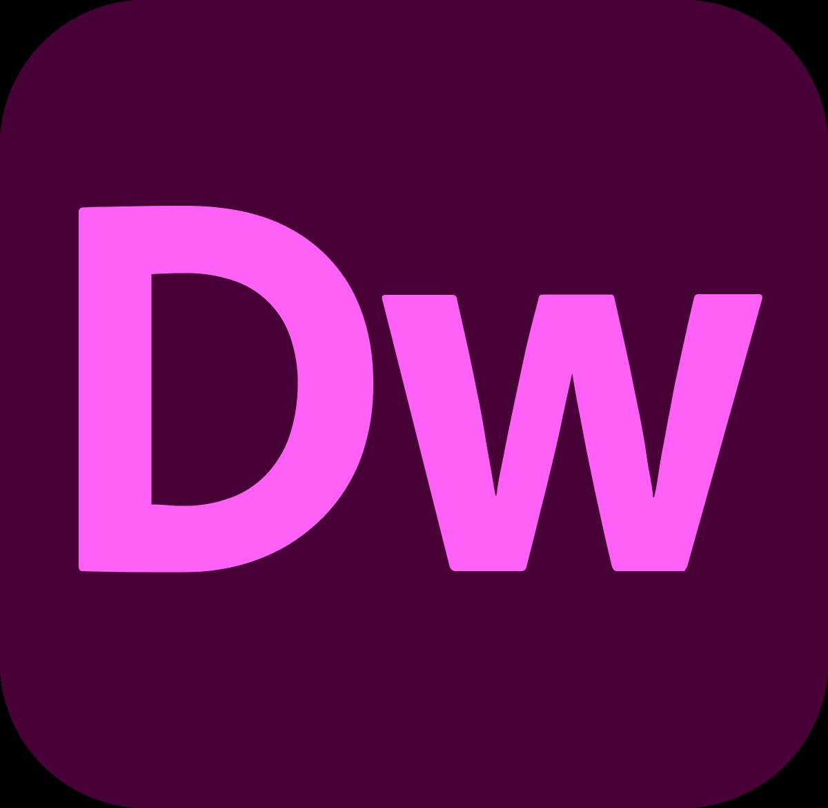 Adobe Dreamweaver Single App
